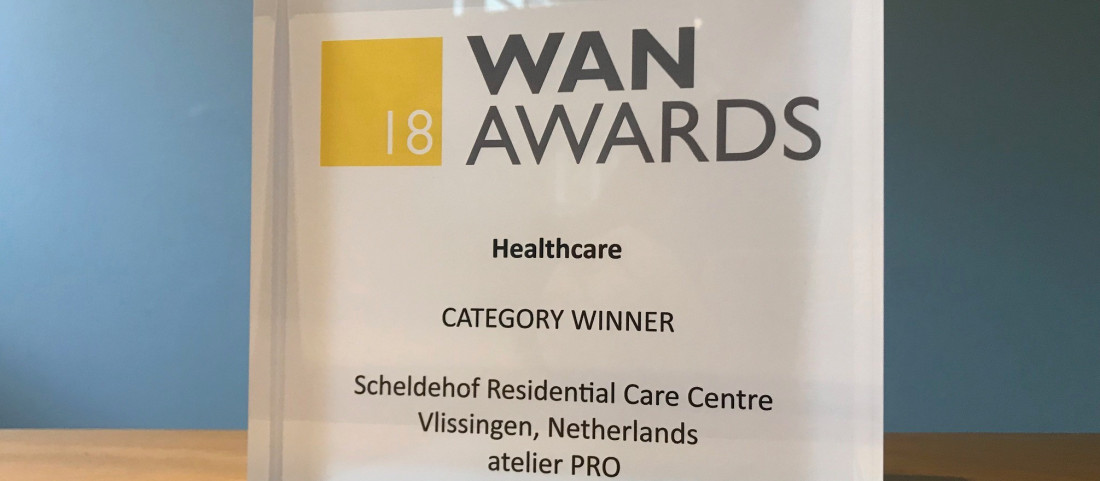 Atelier PRO winner of WAN Healthcare Award 2018!