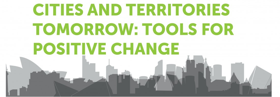 Dorte Kristensen keynote speaker op conferentie 'Cities and Territories Tomorrow; Tools for Positive Change'