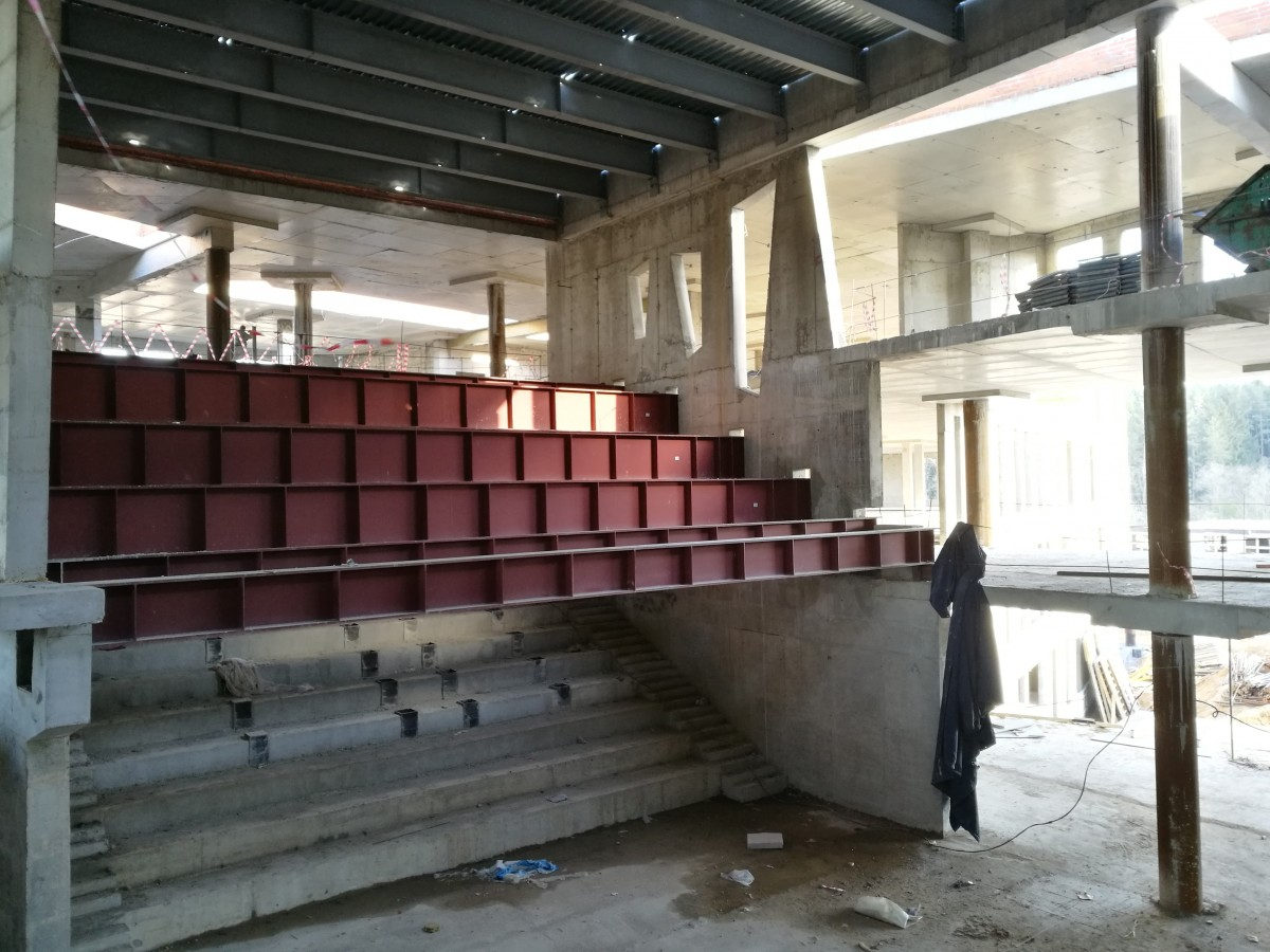 Central hub auditorium