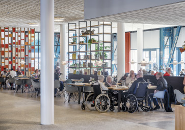 Residential care centre Scheldehof nominated for best health care project 2018