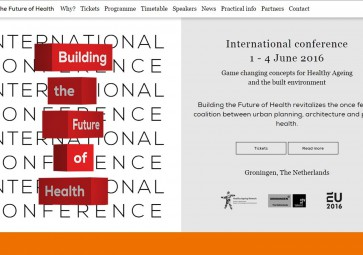 Atelier PRO to be present at Building the Future of Health conference
