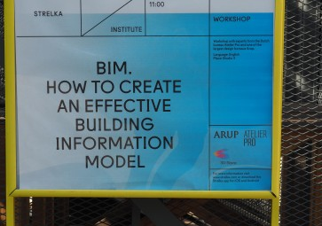 Workshop BIM in Moskou bij architectuurinstituut Strelka