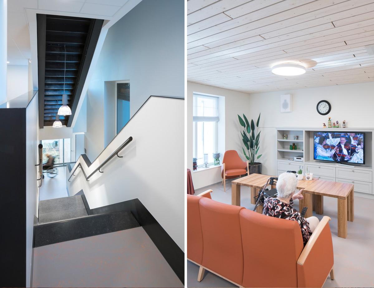 Roomdevider In Woonkamer : Scheldehof residential care centre interior vlissingen atelier pro