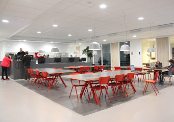 School Interior design and extension Metis Montessori Lyceum Amsterdam
