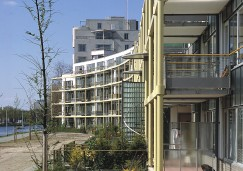 De Zwaan apartment building, Voorburg